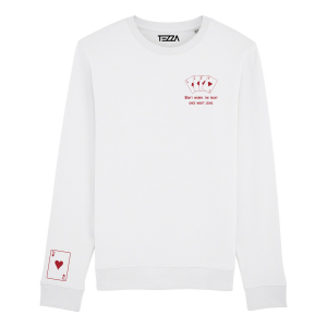Casino Sweater White
