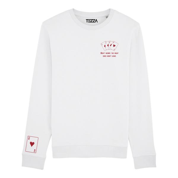 Casino Sweater White
