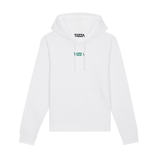 Text Hoodie White