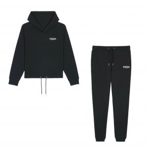Tezza Jogging Suit Black