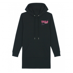Future Hoodie Dress Black 1