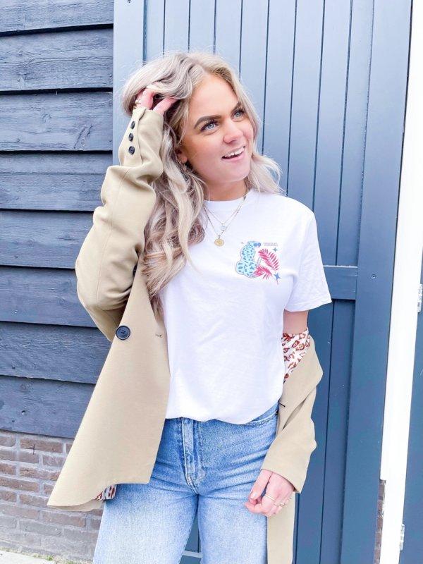 Sunny Leopard T-shirt Tezza Fashion