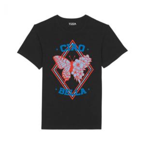 Tezza Butterfly T-shirt Black