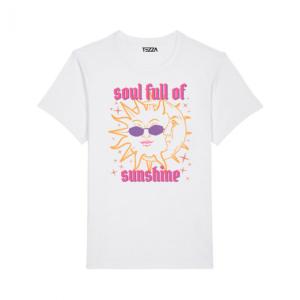 Tezza Sunshine T-shirt White