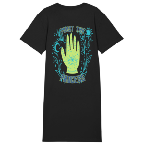 Tezza Trust T-shirt dress black 2