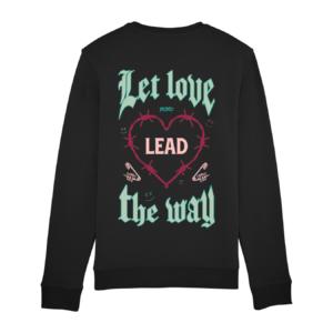 Tezza Love Sweater Black 2