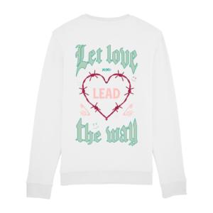 Tezza Love Sweater White 2